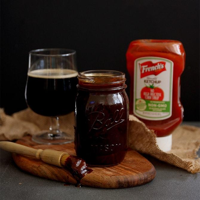 Bourbon Stout BBQ Sauce