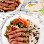 Steak Fajita Rice Bowls