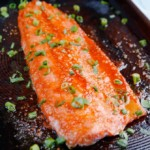 Honey Ginger Sriracha Salmon