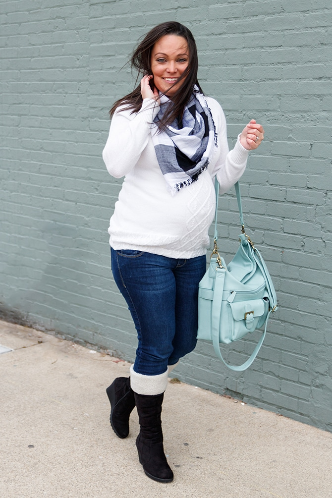 Black & White Maternity Wear