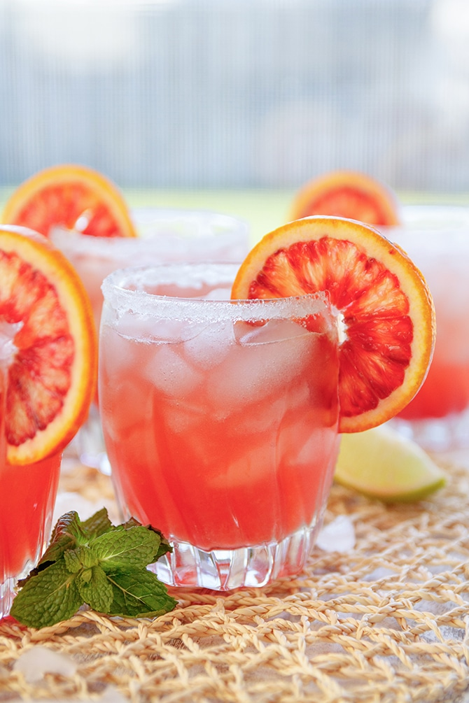 Blood Orange Margarita - Jennifer Meyering