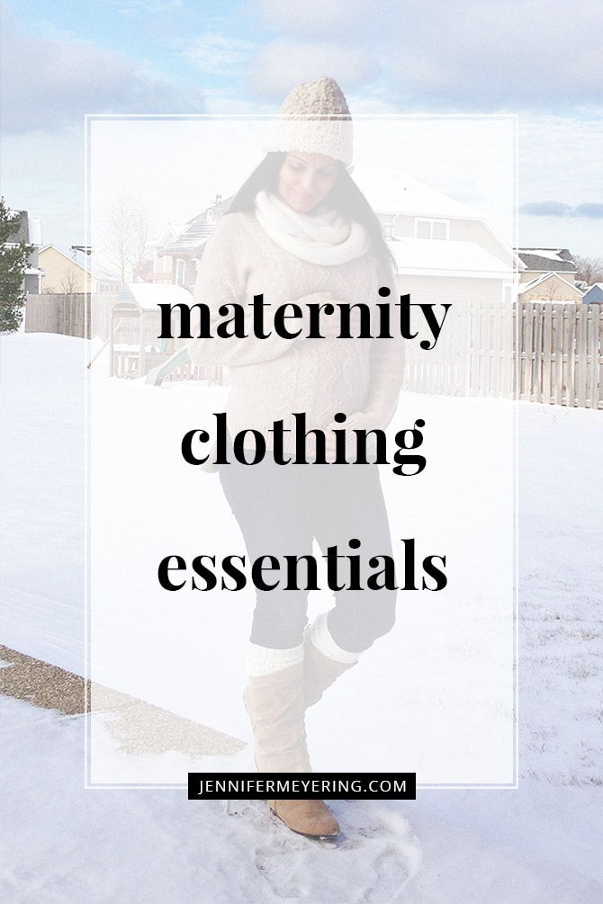 Maternity Clothing Essentials - JenniferMeyering.com