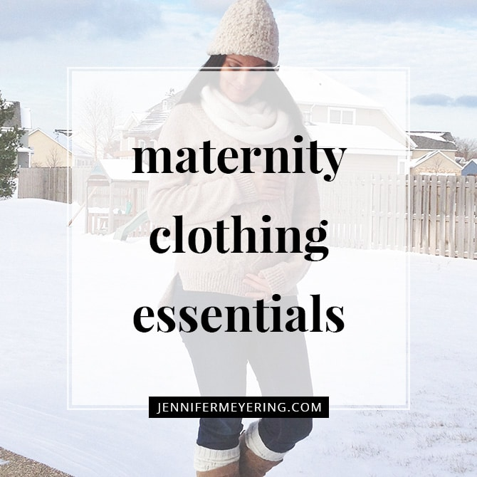 Maternity Clothing Essentials
