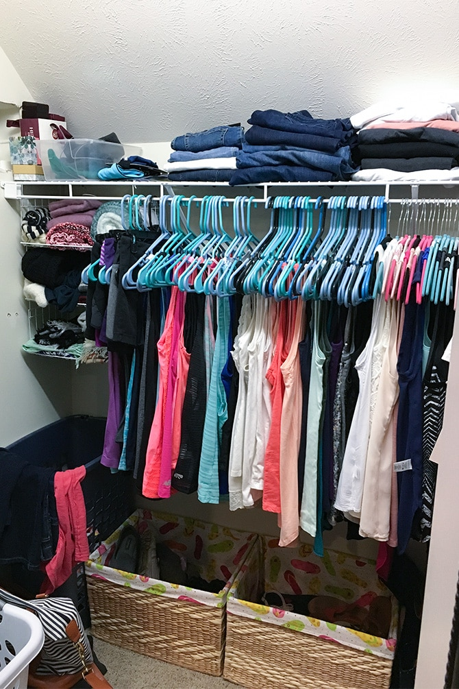 Closet Update & Refresh Before