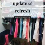 Closet Update & Refresh - JenniferMeyering.com