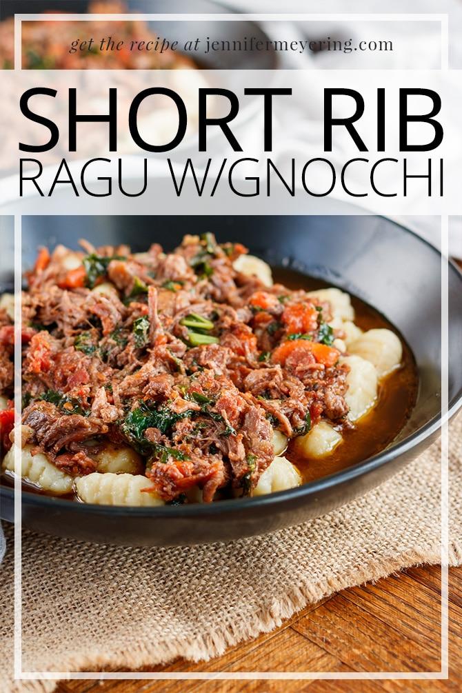 Short Rib Ragu - JenniferMeyering.com