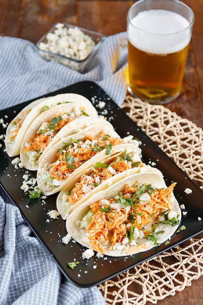 Buffalo Chicken Tacos
