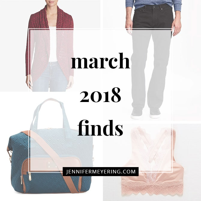 March 2018 Finds