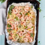 Shrimp Scampi in Foil