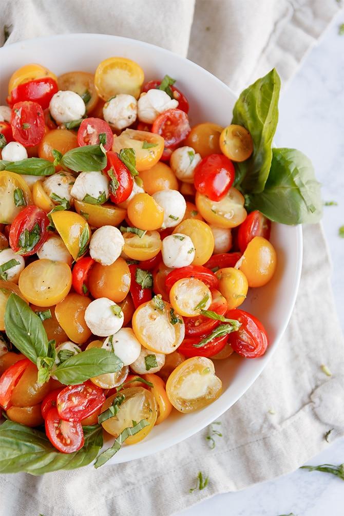 Sun Tomato Caprese Salad