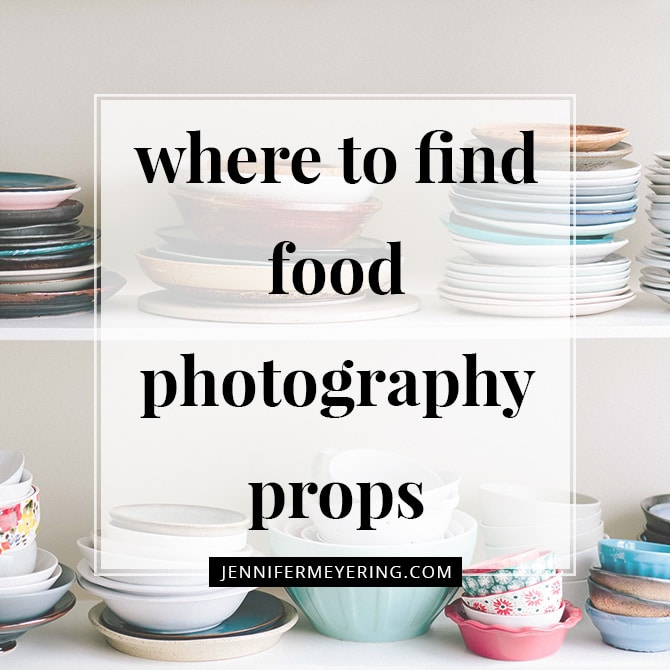 Where to Find Food Photography Props