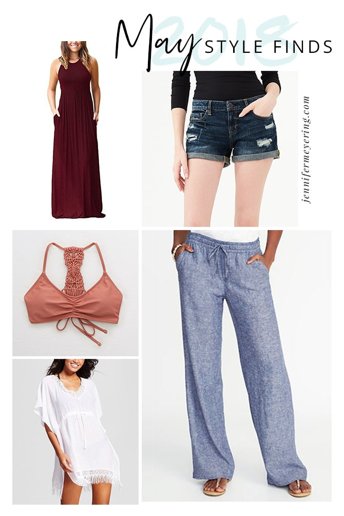May 2018 Style Finds - JenniferMeyering.com