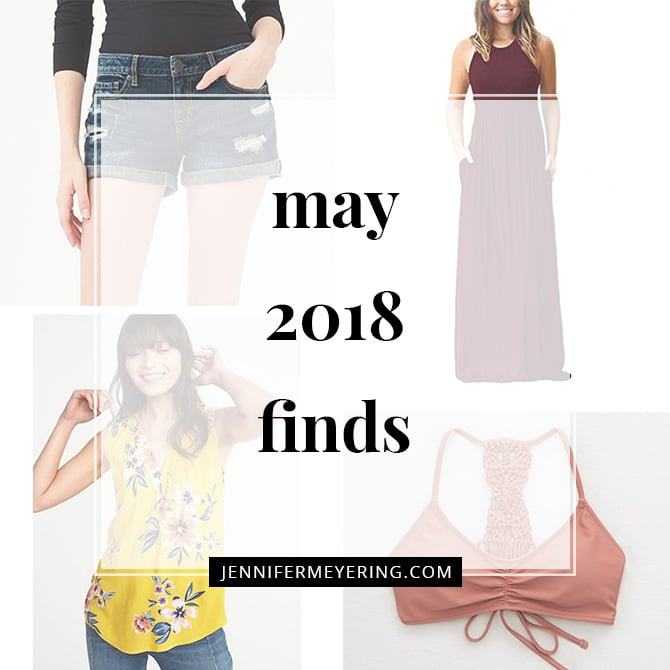 May 2018 Style Finds