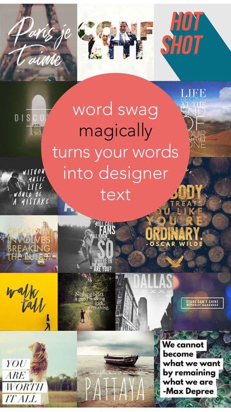 Word Swag App
