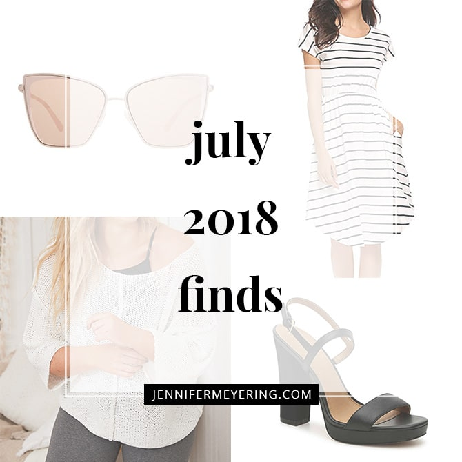 July 2018 Finds