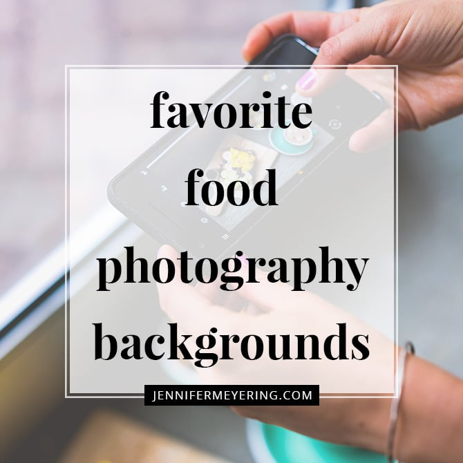 Favorite Food Photography Backgrounds