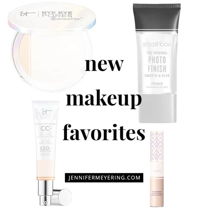 New Makeup Favorites