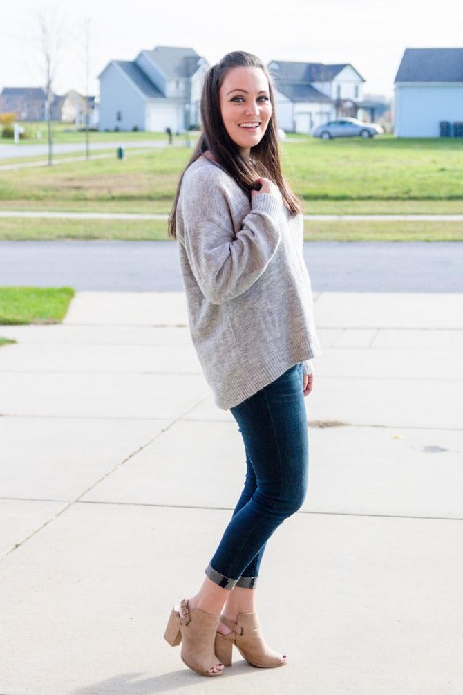 Favorite Grey Sweater