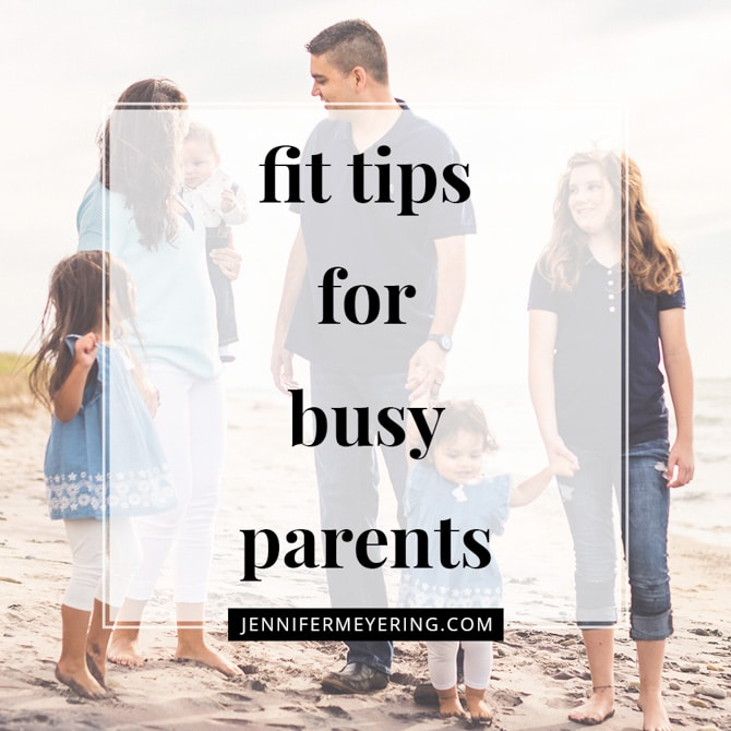 Fit Tips for Busy Parents
