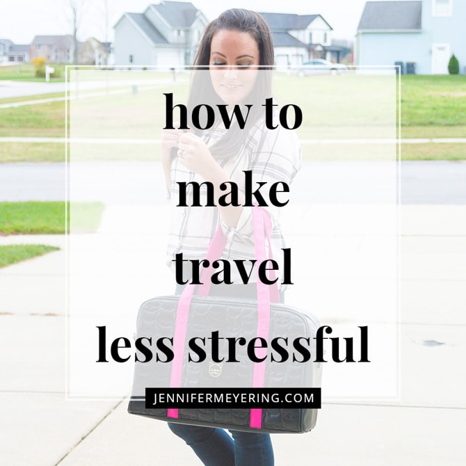 How to Make Travel Less Stressful