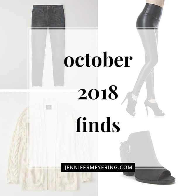 October 2018 Finds