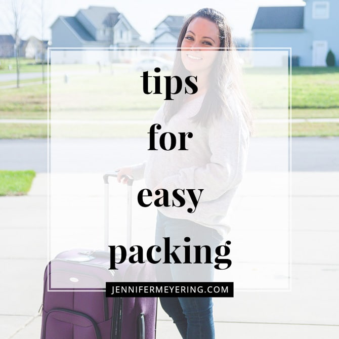 Tips for Easy Packing