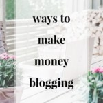 Ways to Make Money Blogging - JenniferMeyering.com