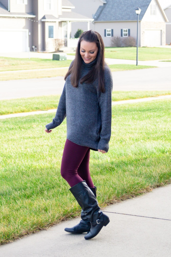 Everyday Casual: Cozy Turtleneck Sweater