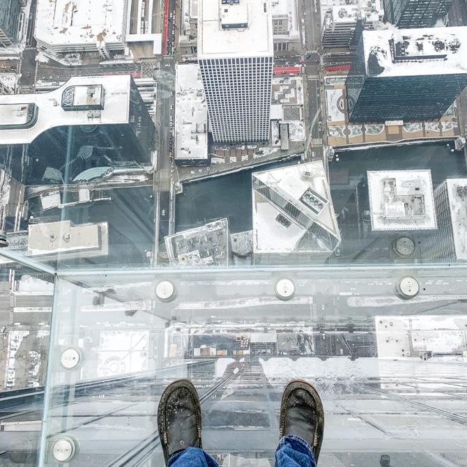 24 Hours in Chicago - Sky Deck