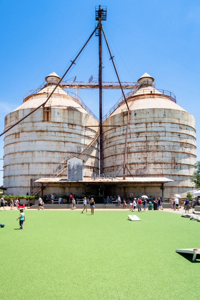 A Day at Magnolia Silos - The Lawn