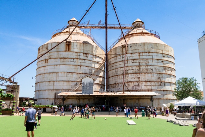 A Day at Magnolia Silos - Visiting the Silos
