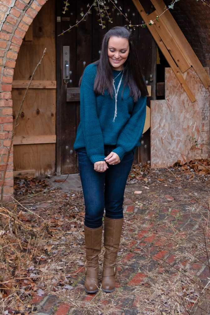 Favorite Turquoise Sweater