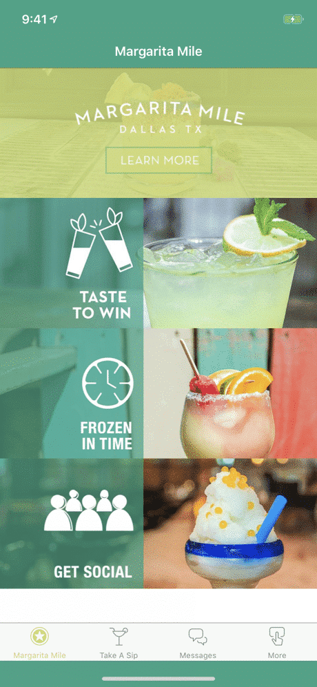 Margarita Mile App