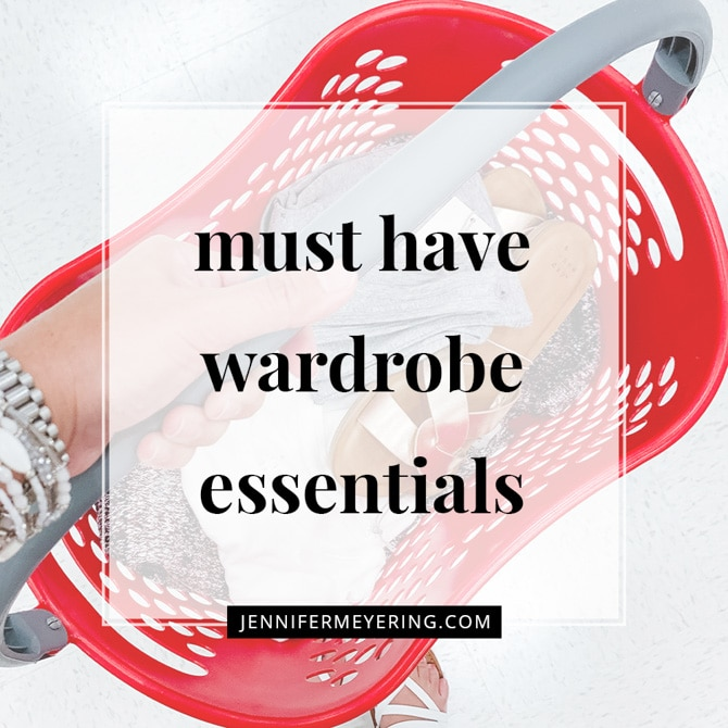 Must Have Wardrobe Essentials