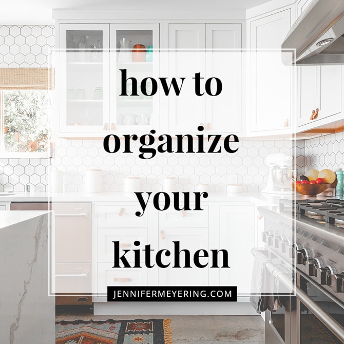 How to Keep Your Kitchen Organized