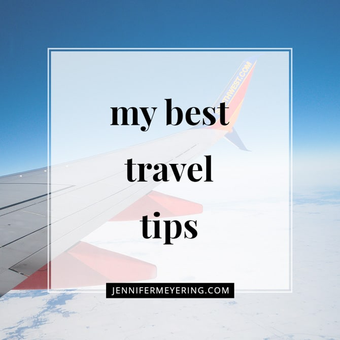 My Best Travel Tips