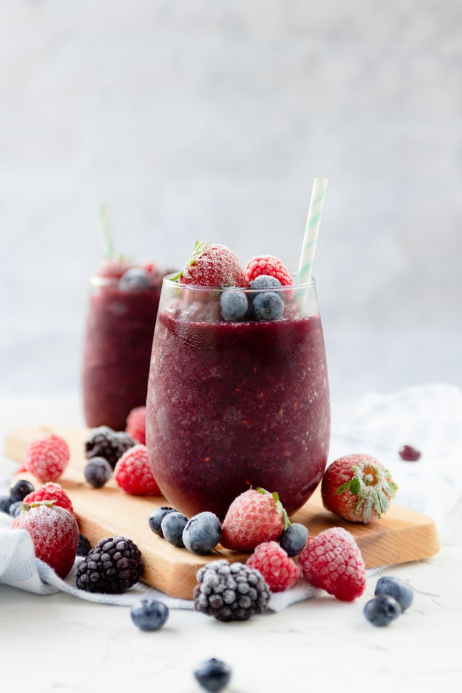 Red Sangria Slushie