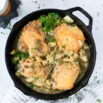 Lemon Caper Beer Chicken