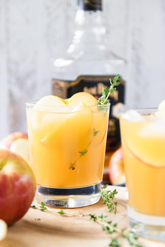 Maple Bourbon Apple Sipper
