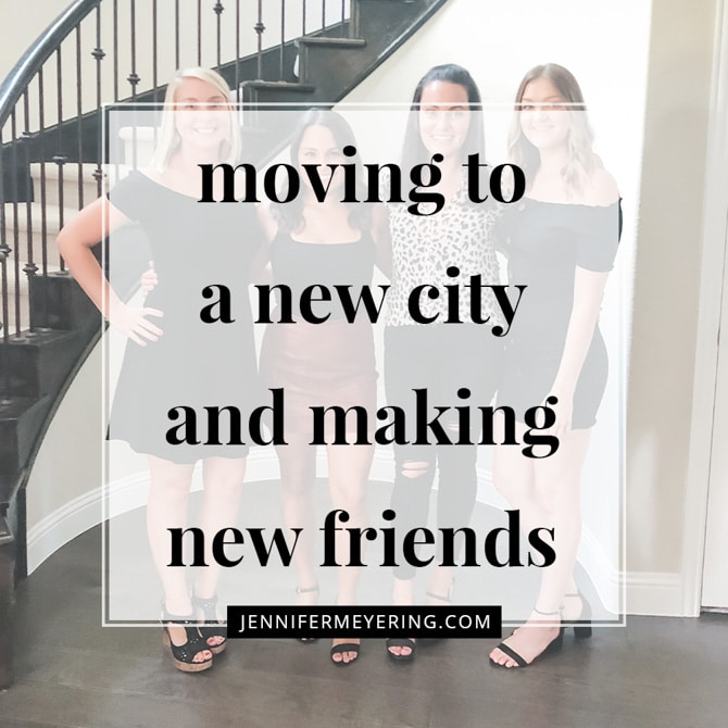 Moving to a New City and Making New Friends