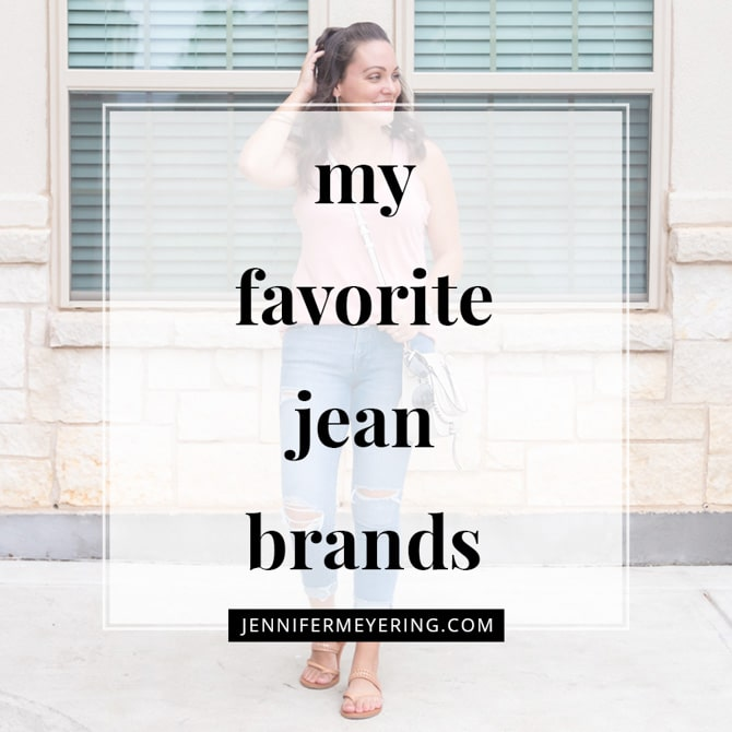 My Favorite Jean Brands