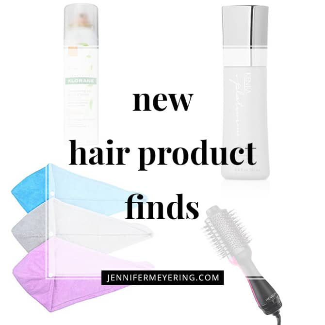 New Hair Product Finds