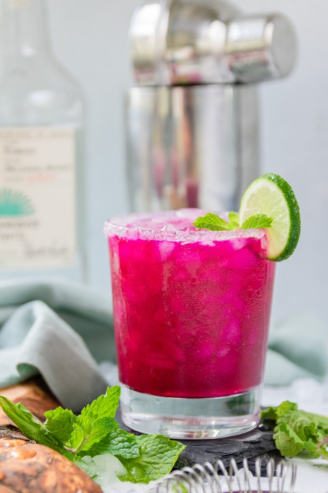 Red Dragonfruit Margarita