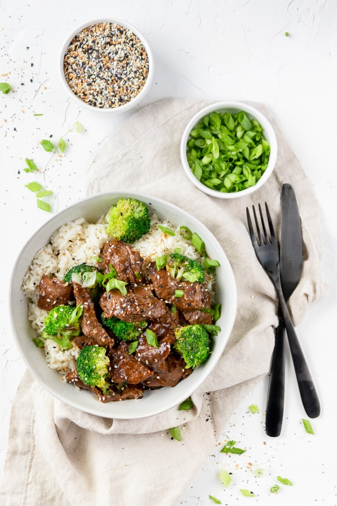 Ginger Soy Beef & Broccoli