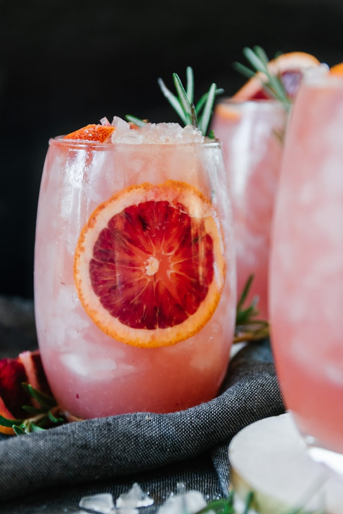 Blood Orange Mezcal Mule