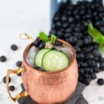 Berry Cucumber Moscow Mule