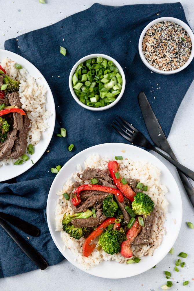 Mongolian Beef Stir-Fry