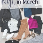 What I packed for NYC in March - JenniferMeyering.com