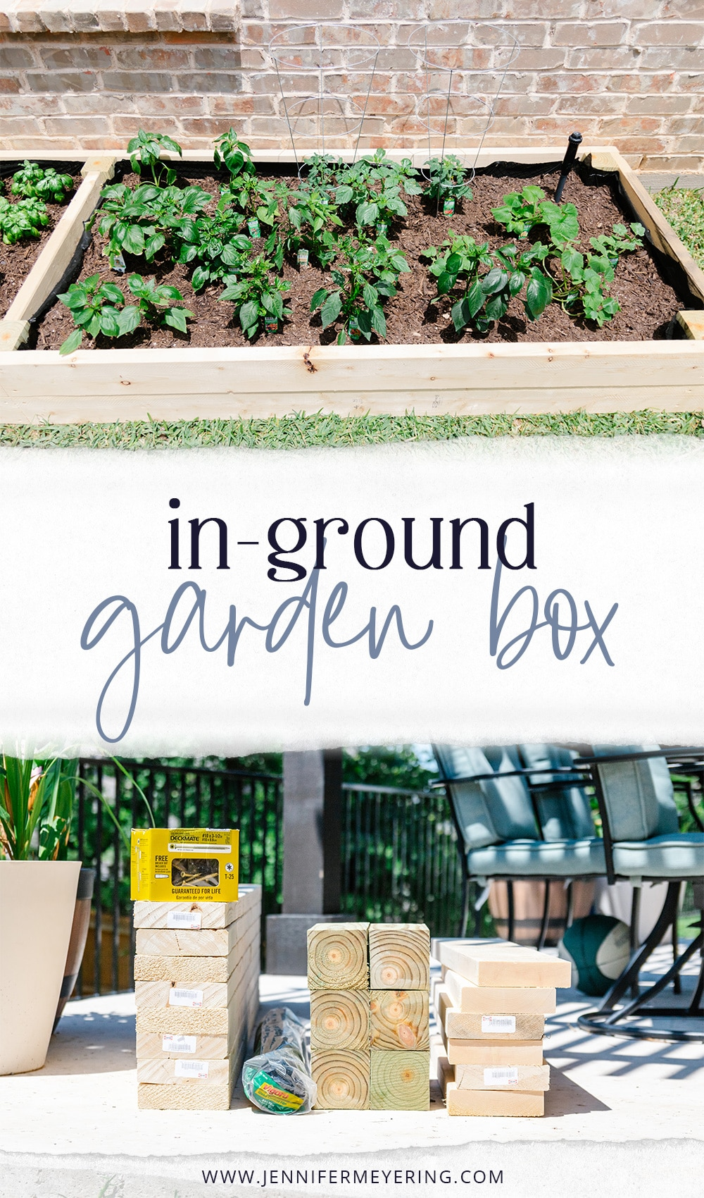 In-Ground Garden Box - JenniferMeyering.com