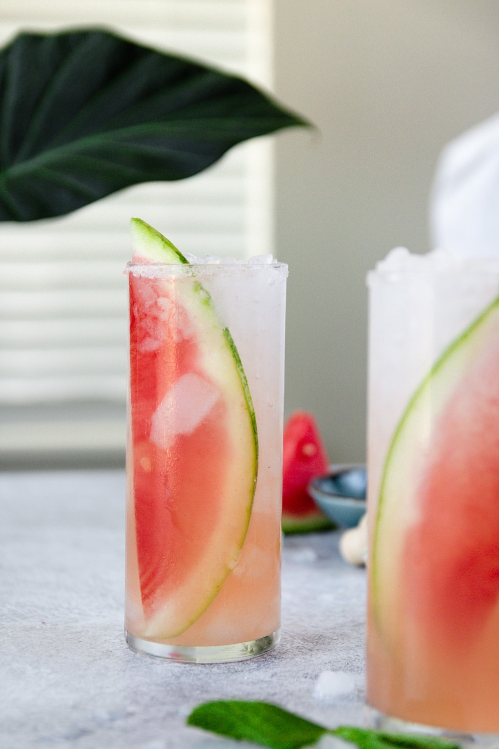 Salted Watermelon Margarita